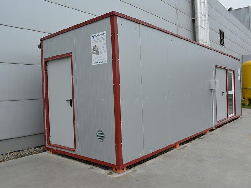 Kotłownia biomasowa kontenerowa Wiśniowski