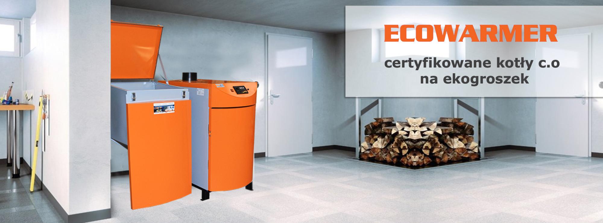 Niskoemisyjne kotły c.o z podajnikiem na ekogroszek Ecowarmer